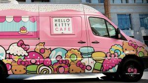 O food truck da Hello Kitty está voltando para Nova Iorque